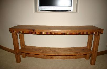 Good Curved Sofa Table With